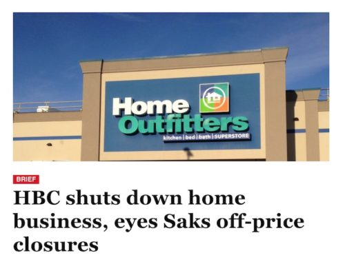 HBC Shuts Down Home Business, Eyes Saks Off-Price Closures