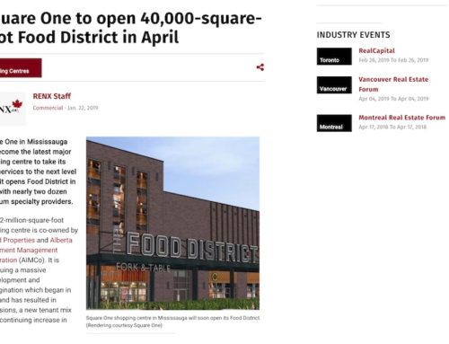 Square One to open 40,000-square-foot Food District in April